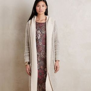 Sleeping on Snow Long Lodge Cardigan Sweater